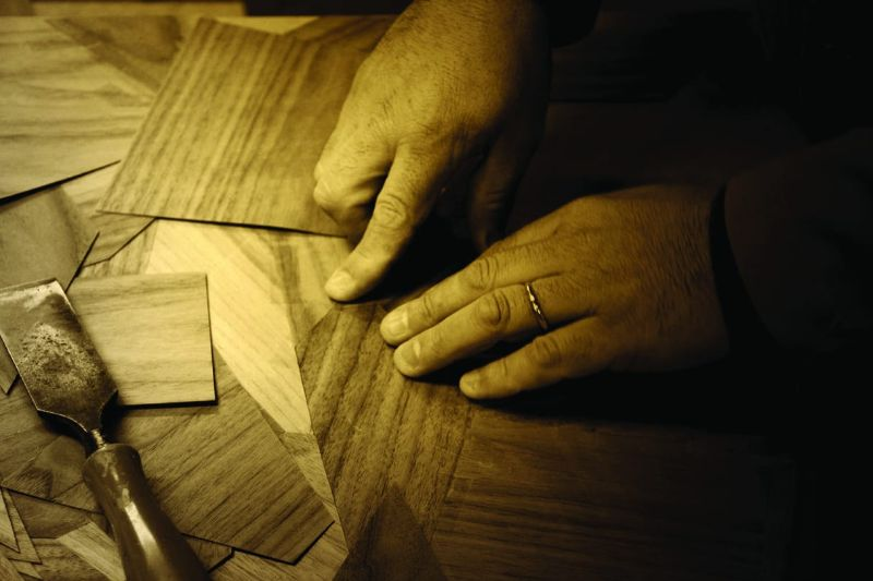 The Wonders Of Craftmanship - Details Of Marquetry (6)