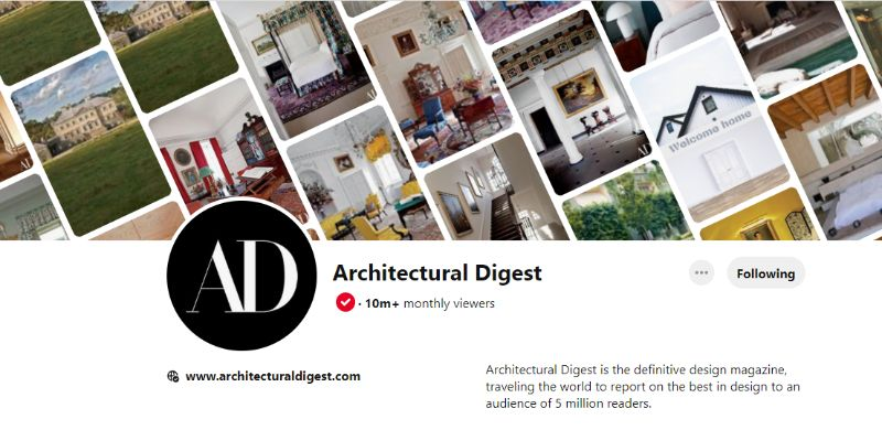 pinterest account 10 Pinterest Accounts That Fuel Our Daily Design Inspirations AD