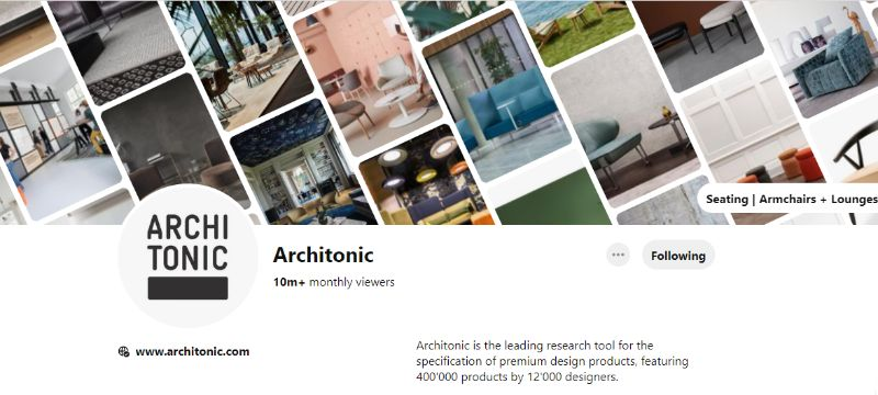 pinterest account 10 Pinterest Accounts That Fuel Our Daily Design Inspirations ARCHI