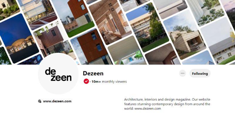 pinterest account 10 Pinterest Accounts That Fuel Our Daily Design Inspirations DEZEEN