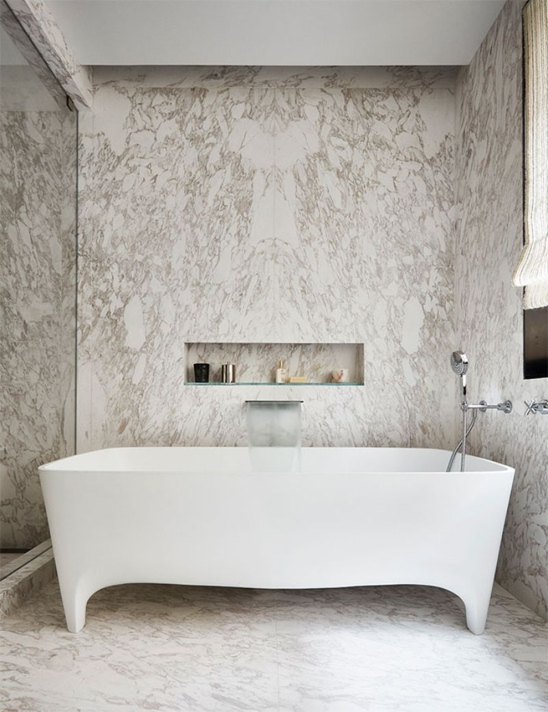 bathroom design High-End Bathroom Designs For A Contemporary Home Ingrao Projects Greenwich Townhouse 16