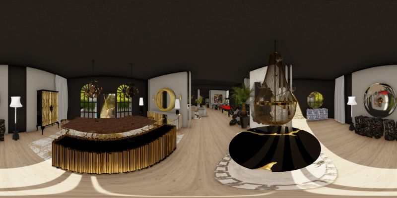 An Immersive Digital Experience To Celebrate 15 Years of Boca do Lobo boca do lobo An Immersive Virtual Experience To Celebrate 15 Years of Boca do Lobo S3 Panorama HD