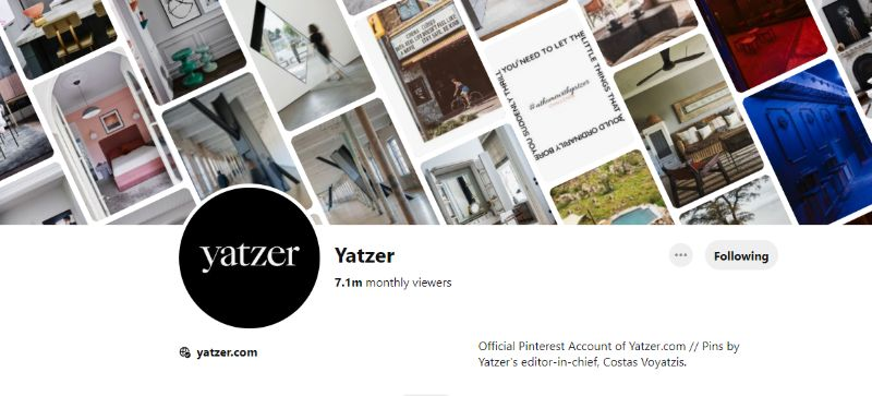 pinterest account 10 Pinterest Accounts That Fuel Our Daily Design Inspirations YATZER