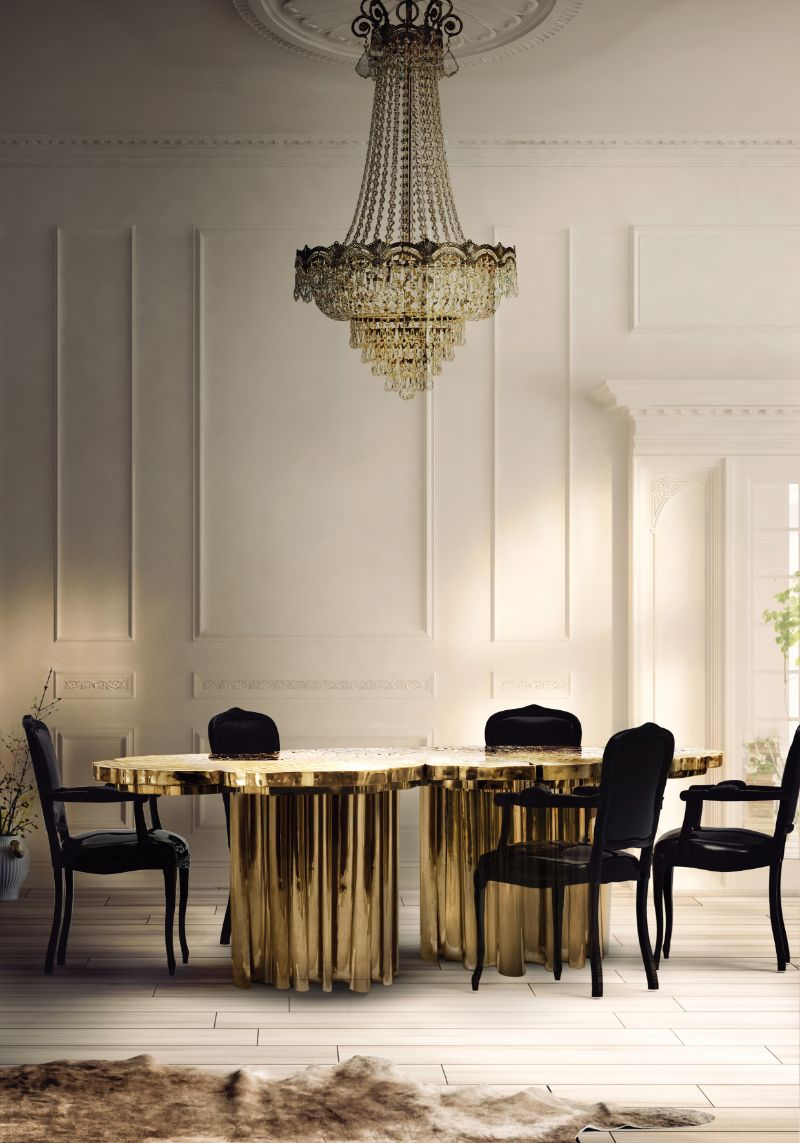 The Fortuna Dining Table: A Refined Statement Piece by Boca do Lobo