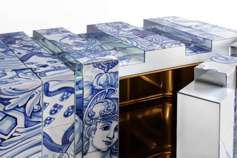 Honoring A Portuguese Legacy: The Heritage Sideboard By Boca do Lobo
