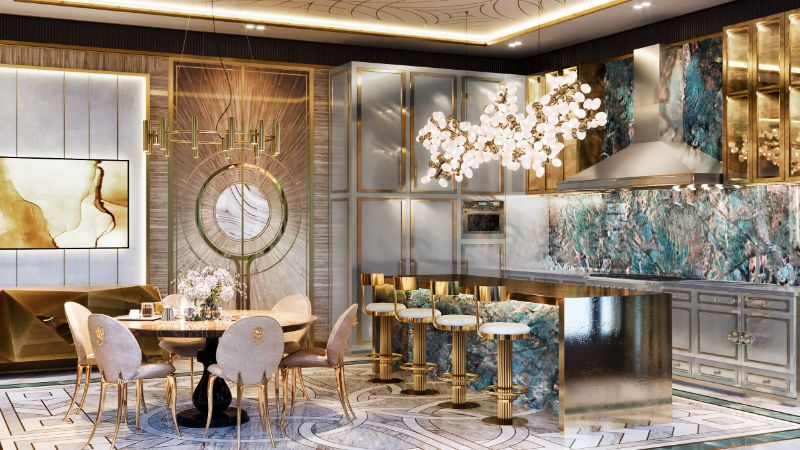luxury manor An Over The Top Luxury Manor In Moscow by Elena Krylova 002  c1