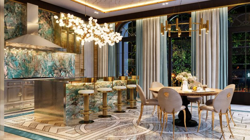 luxury manor An Over The Top Luxury Manor In Moscow by Elena Krylova 004  c1