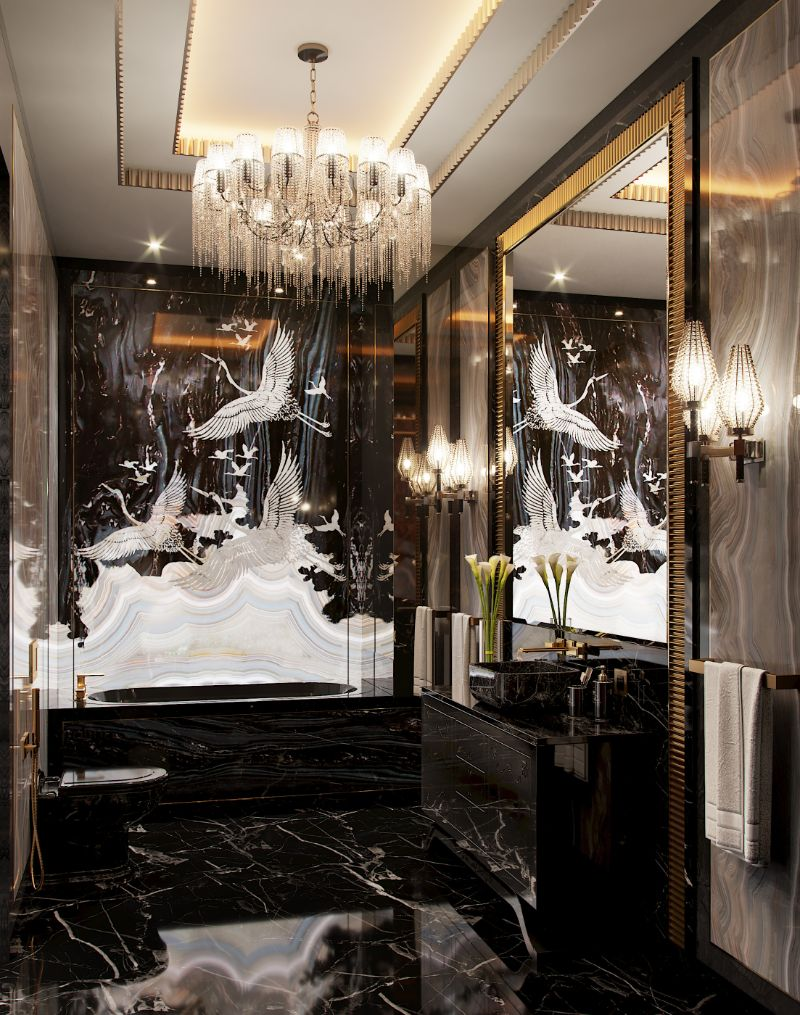An Over The Top Luxury Manor In Moscow by Elena Krylova (22)