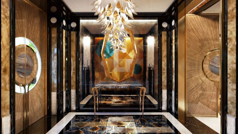 An Over The Top Luxury Manor In Moscow by Elena Krylova (24)
