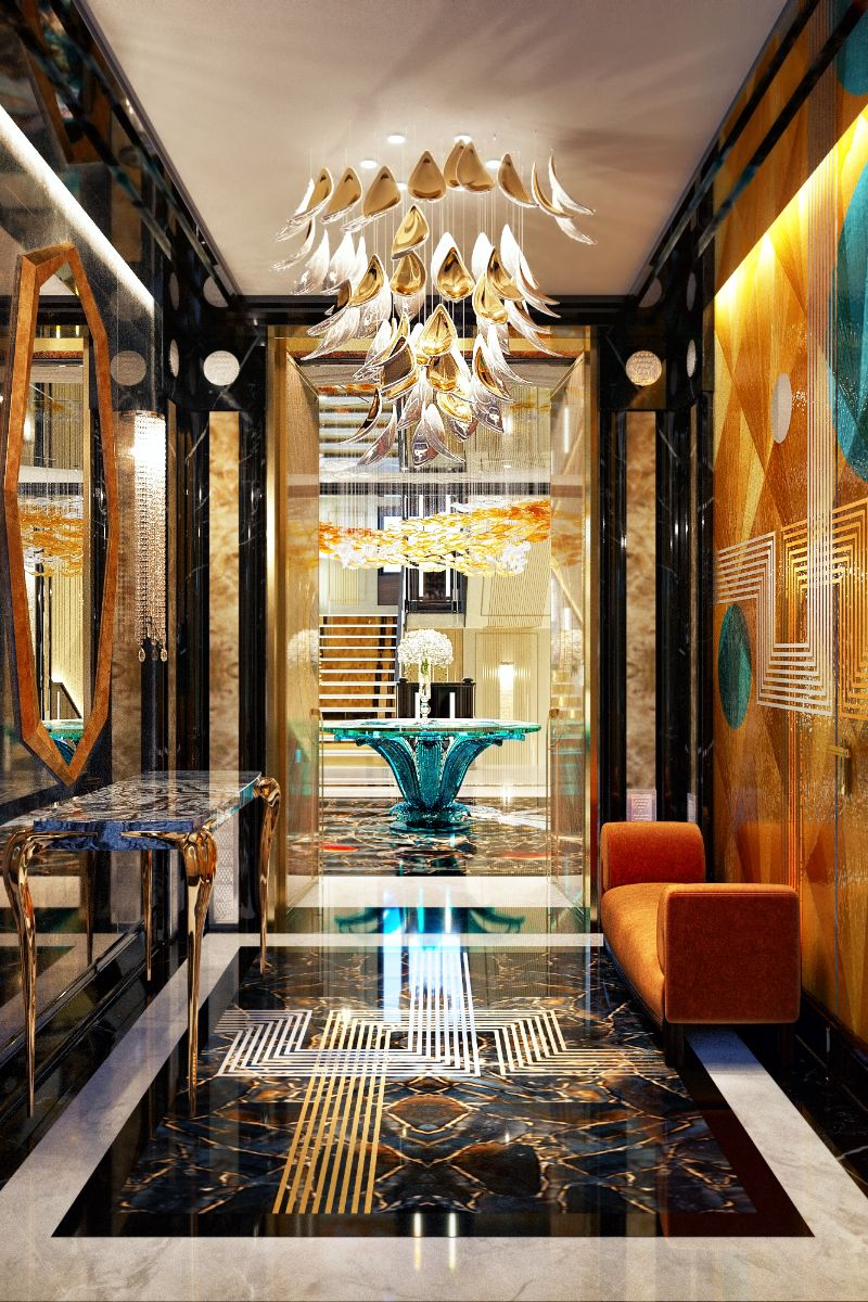 An Over The Top Luxury Manor In Moscow by Elena Krylova (25)