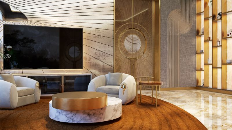 An Over The Top Luxury Manor In Moscow by Elena Krylova (30)