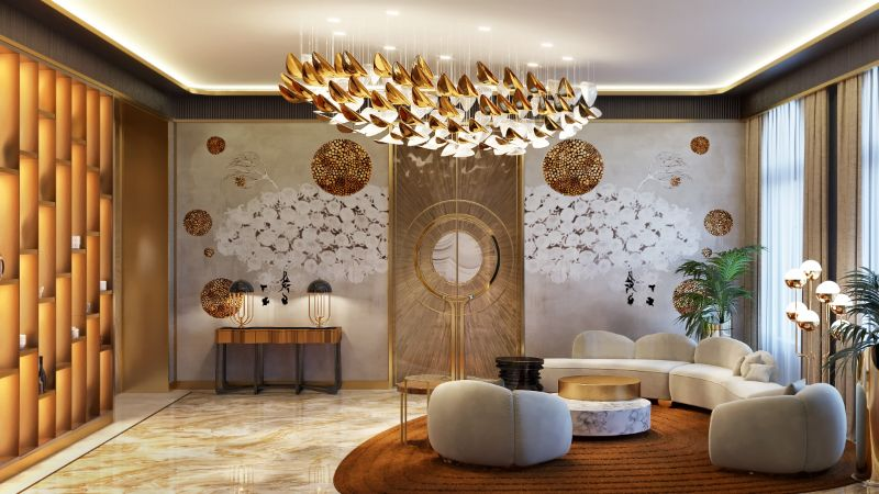 An Over The Top Luxury Manor In Moscow by Elena Krylova (35)