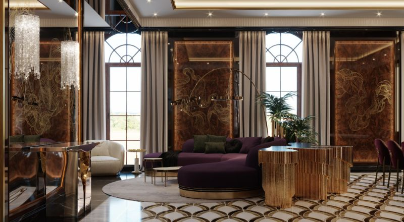 An Over The Top Luxury Manor In Moscow by Elena Krylova (8)