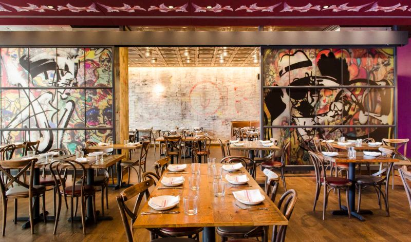Restaurant Designs Where Contemporary Art Takes Centre Stage