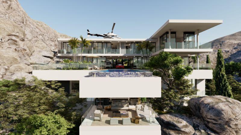 Boca do Lobo's Island Mansion, A Dream Villa In Capri (7)