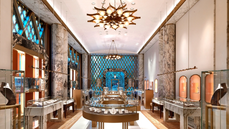 Exclusive Luxury Stores To Discover In New York City luxury store Exclusive Luxury Stores To Discover In New York City Peter Marino Renovates Bulgari New York 3 1