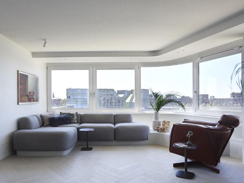 Piet Boon Crafts Modern Apartment Overlooking The City Of Amsterdam