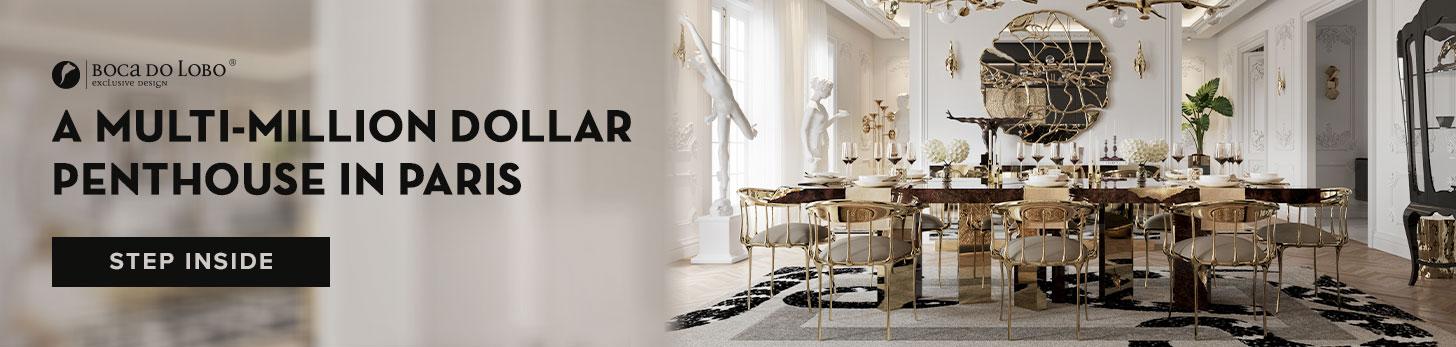 A Multi-Million Dollar Penthouse In Paris, Boca do Lobo's Newest Endeavour luxury office A Luxury Office Setting For An Architect's Millionaire Penthouse artigo penthouse