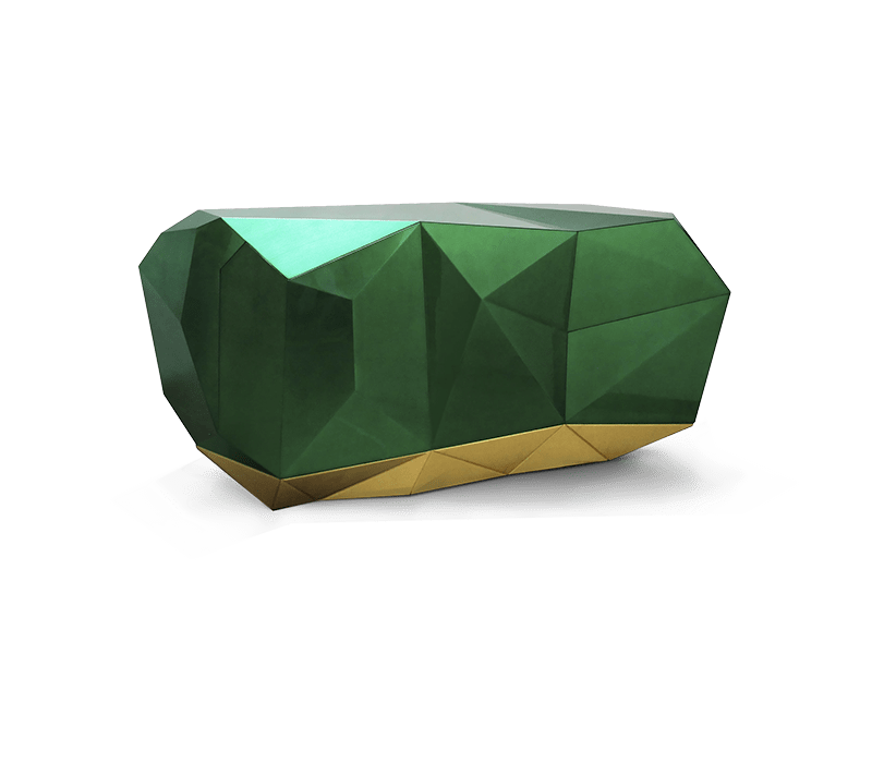 design firm Sara Story Design – Best Design Firms in New York City diamond emerald sideboard 02 boca do lobo 1