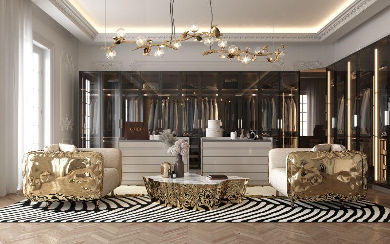 House Tour Of A Luxurious Paris Penthouse - Exclusive Interview With Boca do Lobo Design Team!