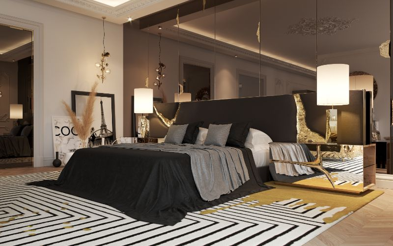 House Tour Of A Luxurious Paris Penthouse - Exclusive Interview With Boca do Lobo Design Team! boca do lobo House Tour Of A Luxurious Paris Penthouse – Exclusive Interview With Boca do Lobo Design Team! 30