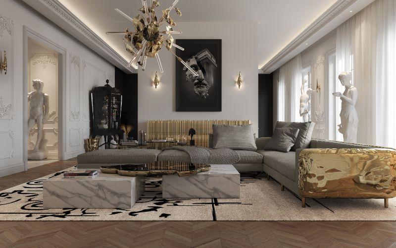 House Tour Of A Luxurious Paris Penthouse - Exclusive Interview With Boca do Lobo Design Team! boca do lobo House Tour Of A Luxurious Paris Penthouse – Exclusive Interview With Boca do Lobo Design Team! 4