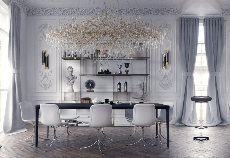 Inspiring Interior Design Projects To Discover In Paris (Part 1!) interior design project Inspiring Interior Design Projects To Discover In Paris (Part 1!) Classic Apartment In Paris by Studio 54