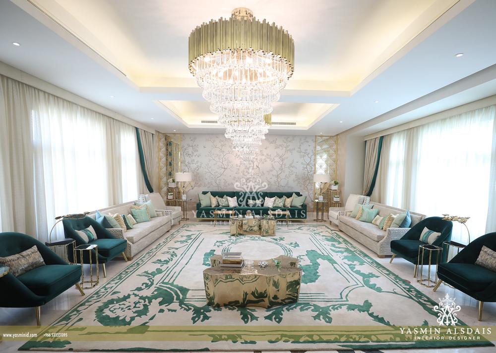 Best Interior Design Projects By Yasmin Alsdais تصميم الرياض تصميم داخلي interior design project Best Interior Design Projects By Yasmin Alsdais in Riyadh GREEN ROOM 2 2000x1422 2