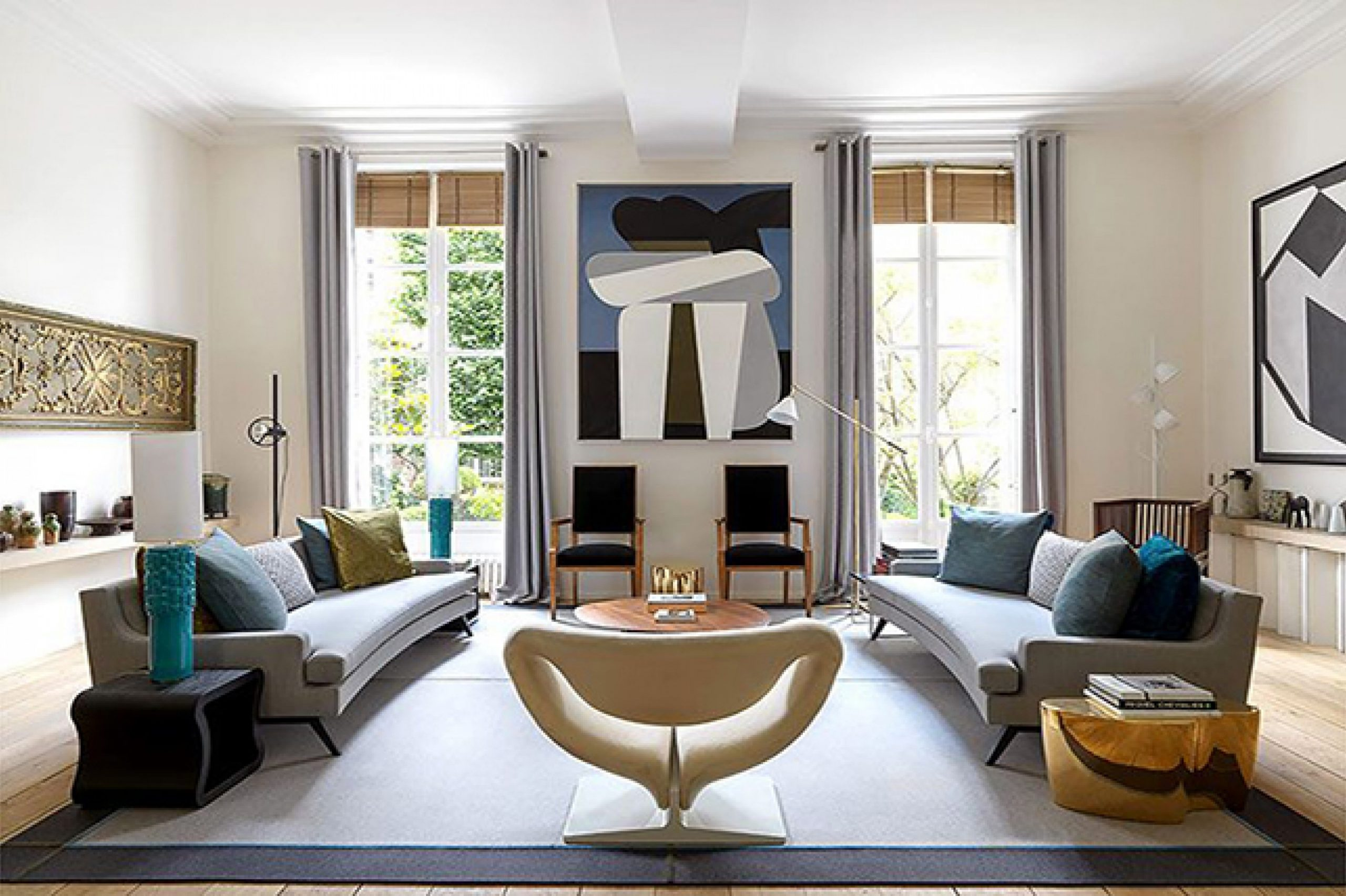 Inspiring Interior Design Projects To Discover In Paris (Part 1!) interior design project Inspiring Interior Design Projects To Discover In Paris (Part 1!) Harmonious Parisian Apartment by Didier Gomez 1 scaled