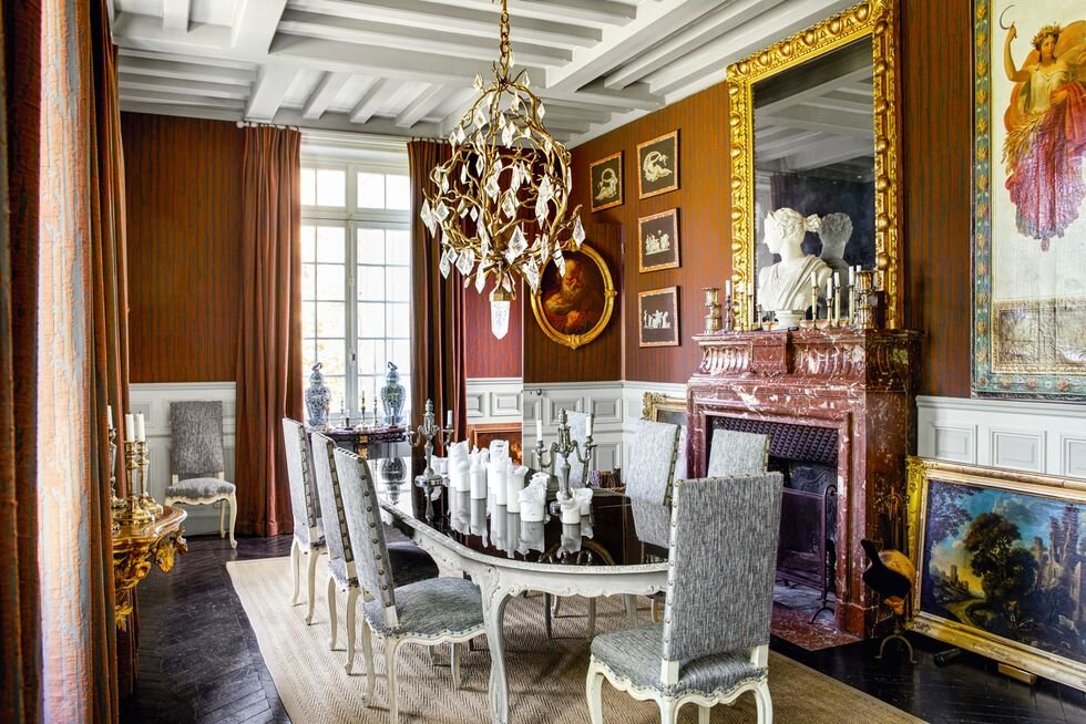 Inspiring Interior Design Projects To Discover In Paris (Part 1!) interior design project Inspiring Interior Design Projects To Discover In Paris (Part 1!) Historic French Manor by Jean Louis Deniot 1