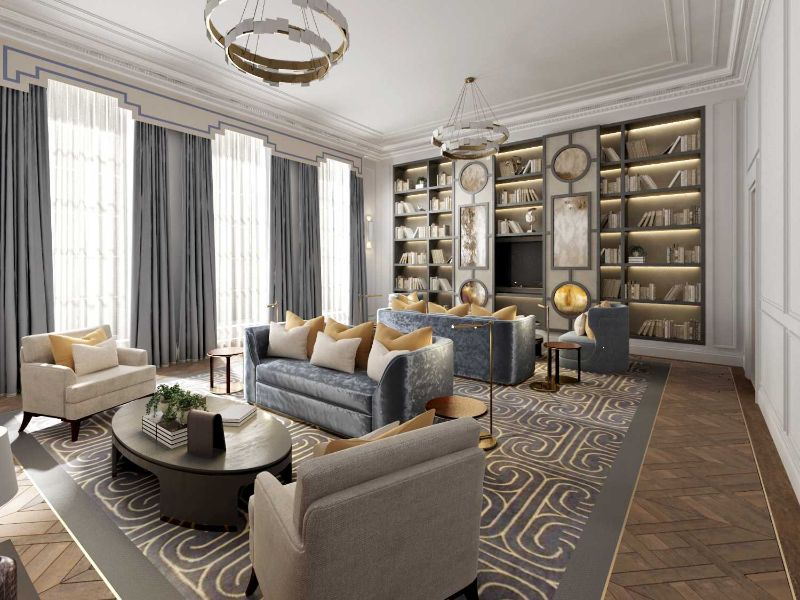 Discover The Best Interior Design Projects In London! interior design project Discover The Best Interior Design Projects In London! Historic London Property by Katherine Pooley