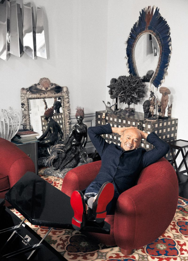 Inspiring Interior Design Projects To Discover In Paris (Part 1!) interior design project Inspiring Interior Design Projects To Discover In Paris (Part 1!) Home Of The Iconic Christian Louboutin by Jacques Grange 1