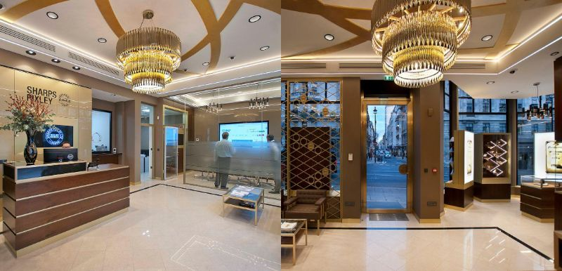 Discover The Best Interior Design Projects In London! interior design project Discover The Best Interior Design Projects In London! Sharps Pixley Flagship Store by DelighFULL