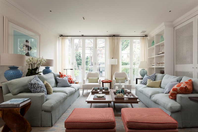 Discover The Best Interior Design Projects In London! interior design project Discover The Best Interior Design Projects In London! Sophisticated House Decor by Melissa and Miller Interiors