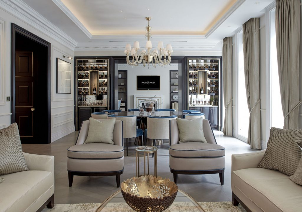 Astounding Interior Design Projects by Rigby & Rigby