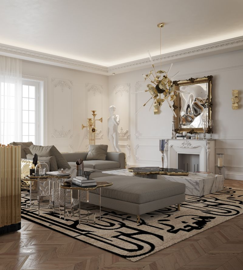 House Tour Of A Luxurious Paris Penthouse - Exclusive Interview With Boca do Lobo Design Team! boca do lobo House Tour Of A Luxurious Paris Penthouse – Exclusive Interview With Boca do Lobo Design Team! living room 4