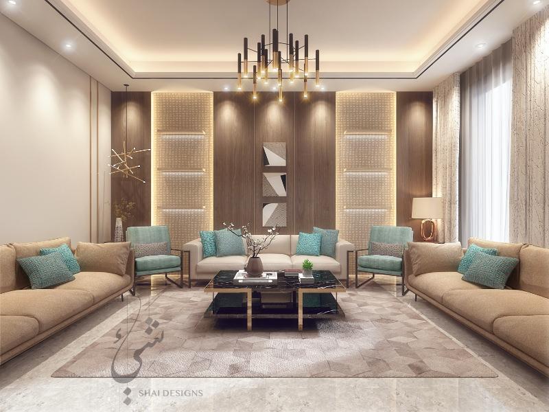 Riyadh's Best Interior Design Projects: Shai Designs تصميم داخلي interior design project Riyadh's Best Interior Design Projects: Shai Designs Slide6
