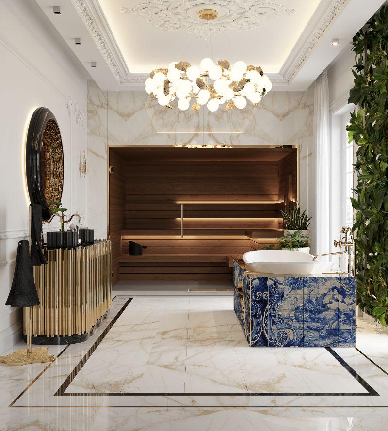 boca do lobo House Tour Of A Luxurious Paris Penthouse – Exclusive Interview With Boca do Lobo Design Team! bathroom 1