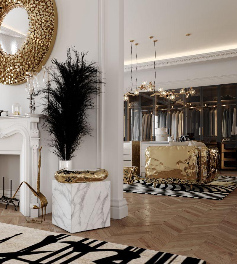 boca do lobo House Tour Of A Luxurious Paris Penthouse – Exclusive Interview With Boca do Lobo Design Team! closet 3