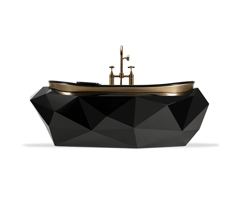 diff studio A Remarkable and Irreverent Apartment, A Creation By Diff Studio diamond bathtub 01 boca do lobo