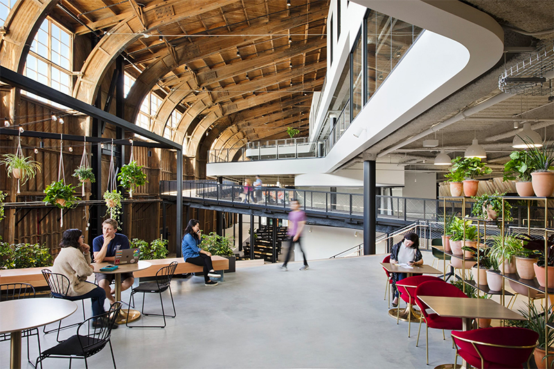 ZGF Architects: From An Airplane Hangar to A Google Office zgf architects ZGF Architects: From An Airplane Hangar to A Google Office google10