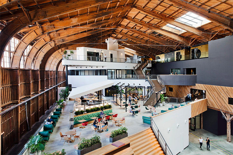ZGF Architects: From An Airplane Hangar to A Google Office zgf architects ZGF Architects: From An Airplane Hangar to A Google Office google2