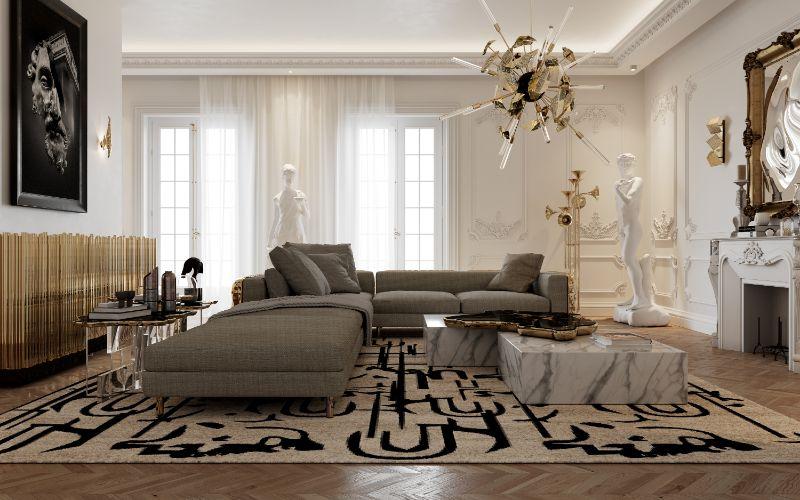 boca do lobo House Tour Of A Luxurious Paris Penthouse – Exclusive Interview With Boca do Lobo Design Team! living room 5