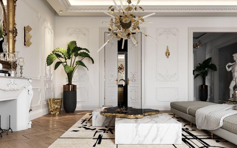 boca do lobo House Tour Of A Luxurious Paris Penthouse – Exclusive Interview With Boca do Lobo Design Team! living room 6