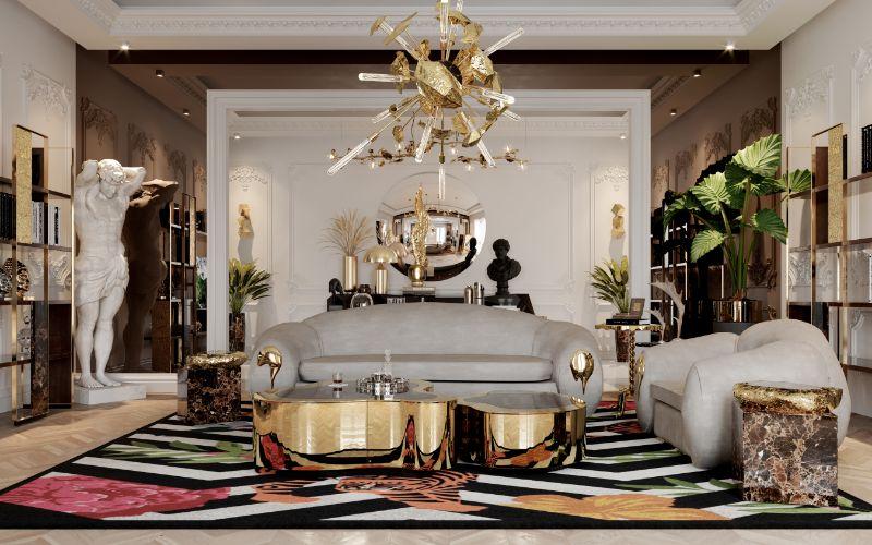 boca do lobo House Tour Of A Luxurious Paris Penthouse – Exclusive Interview With Boca do Lobo Design Team! office 3