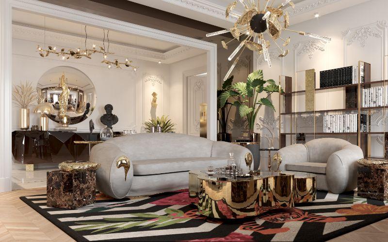 boca do lobo House Tour Of A Luxurious Paris Penthouse – Exclusive Interview With Boca do Lobo Design Team! office 4
