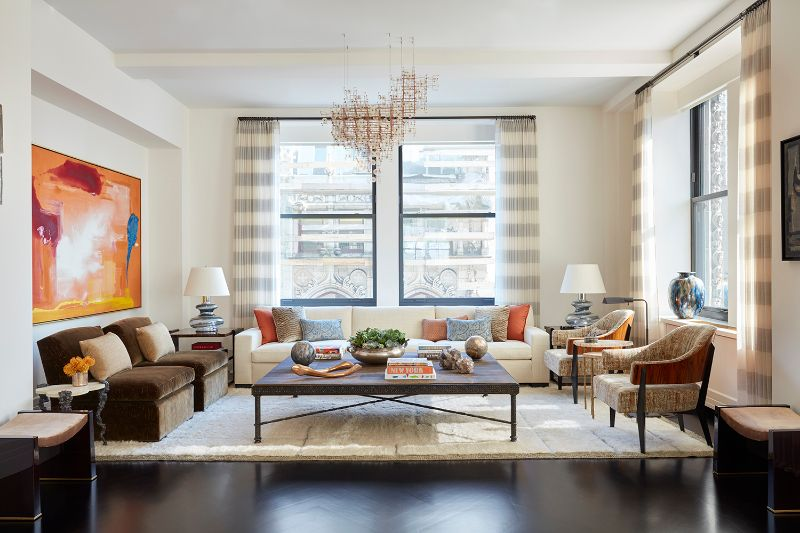 Suzanne Tucker Transforms New York Apartment Into An Arts Haven