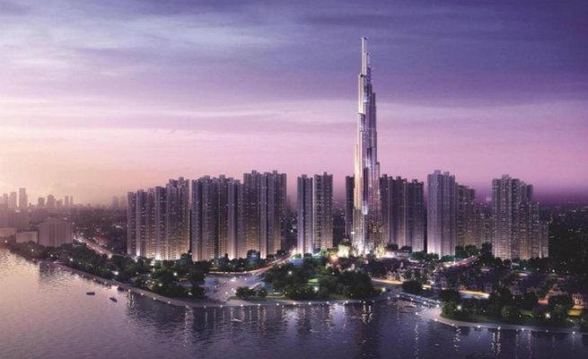 Vietman's Tallest Building by Atkins atkins starts building the tallest building in vietnam1