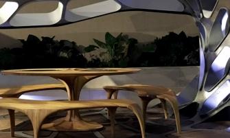 Zaha Hadid Launches Volun Dining Pavillion at Design Miami Zaha Hadid Zaha Hadid Launches Volun Dining Pavillion at Design Miami Zaha Hadid Launches Volun Dining Pavillion at Design Miami  335x201