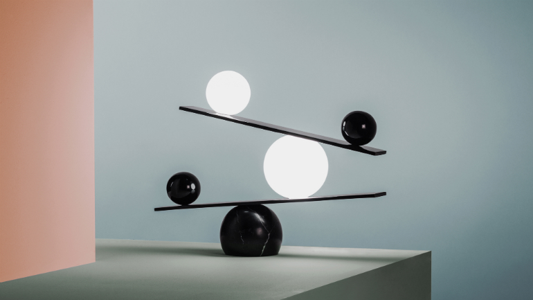 trends Design Forecast: 5 Trends to Expect this Year 4 Balance lamp by Victor Castanera for Oblure